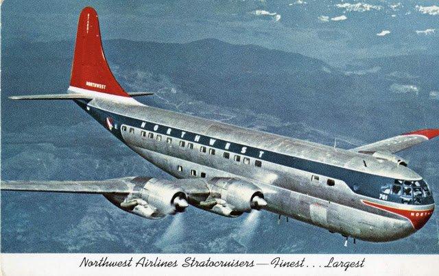 Boeing 377 Stratocruiser — самый большой и быстрый самолёт в коммерческой авиации