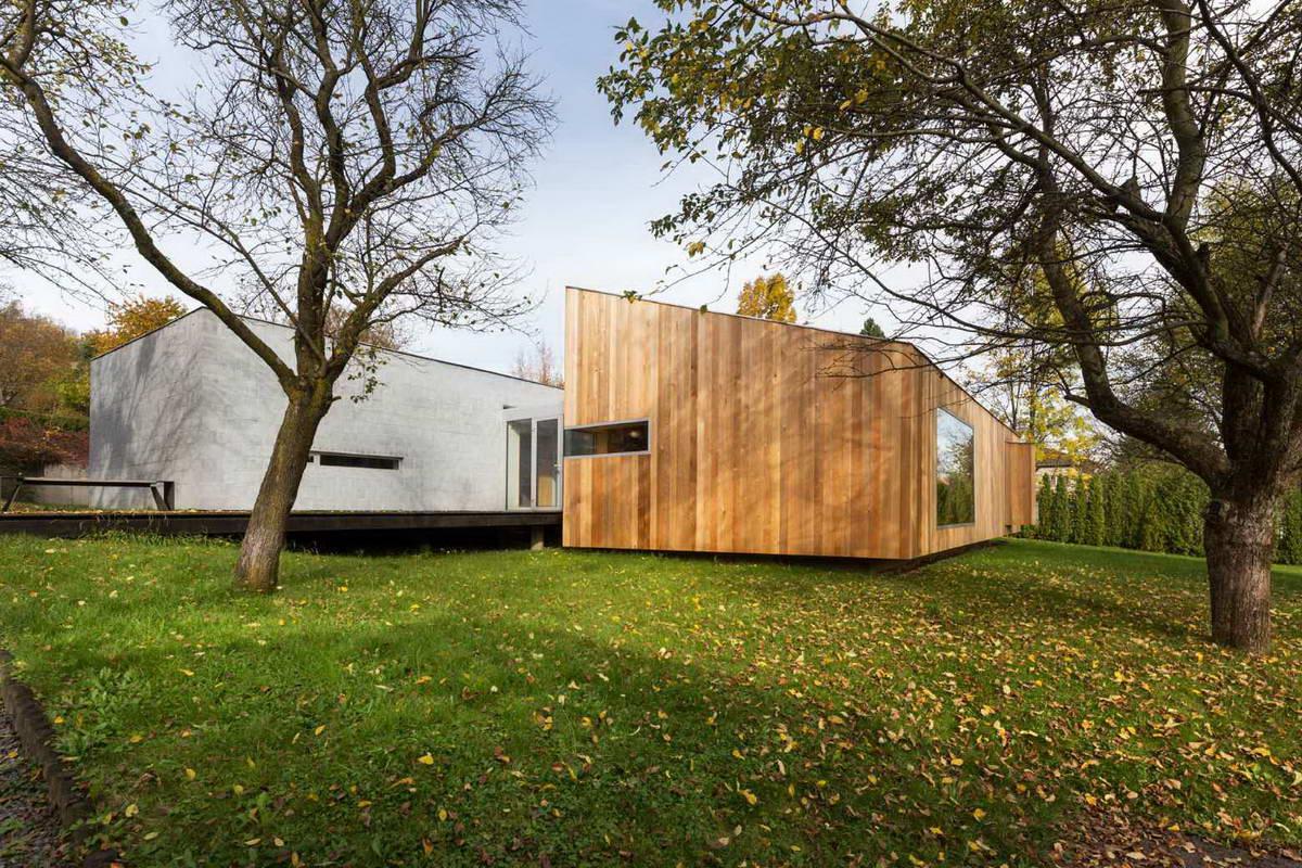Дом архитектора со студией в Чехии