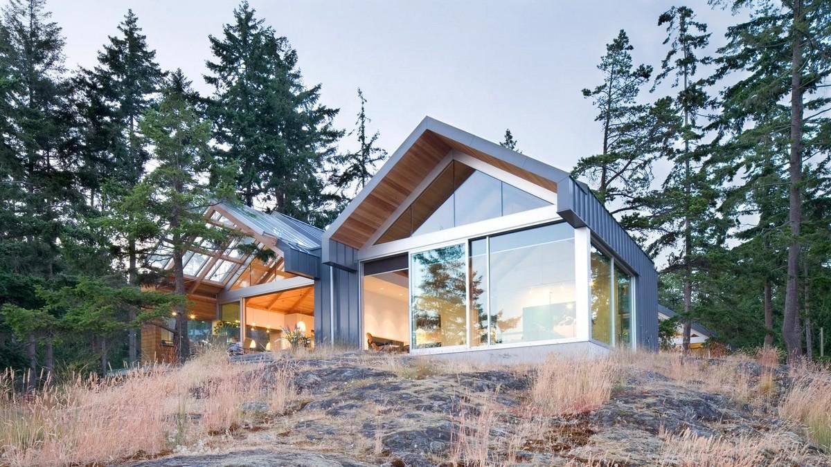 Дом на острове Боуэн в Канаде