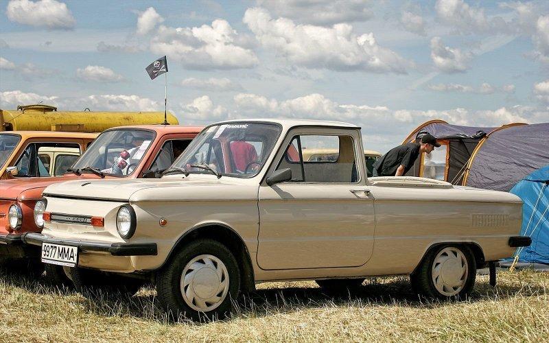 Интересные автомобили родом из СССР — продолжение