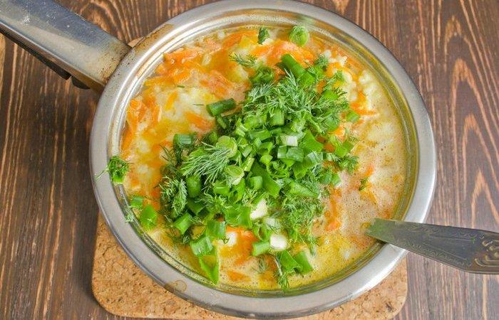 Как сохранить естественный цвет зелени в супе