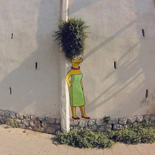 Креативный уличные рисунки от Efix