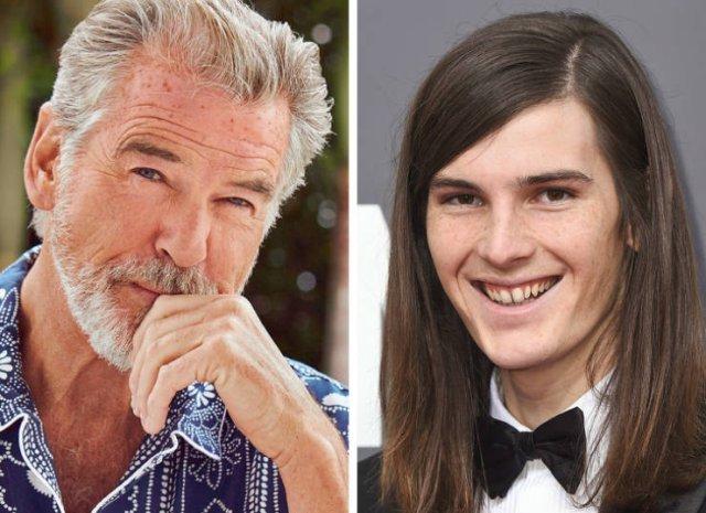 Не все дети знаменитостей похожи на своих родителей