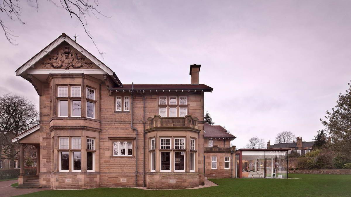 Новый облик викторианской виллы в Шотландии