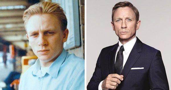 Снимки молодых актеров, которых мы привыкли видеть в зрелом возрасте