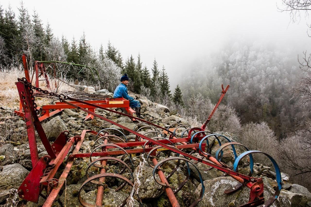Уединённая жизнь норвежского фермера в фотопроекте Нильса Тьюна