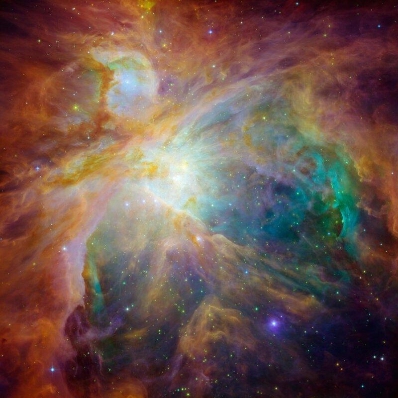 Знаковые снимки Вселенной с телескопа «Спитцер»