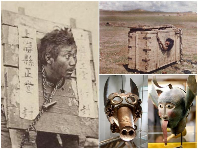 10 очень странных наказаний в истории