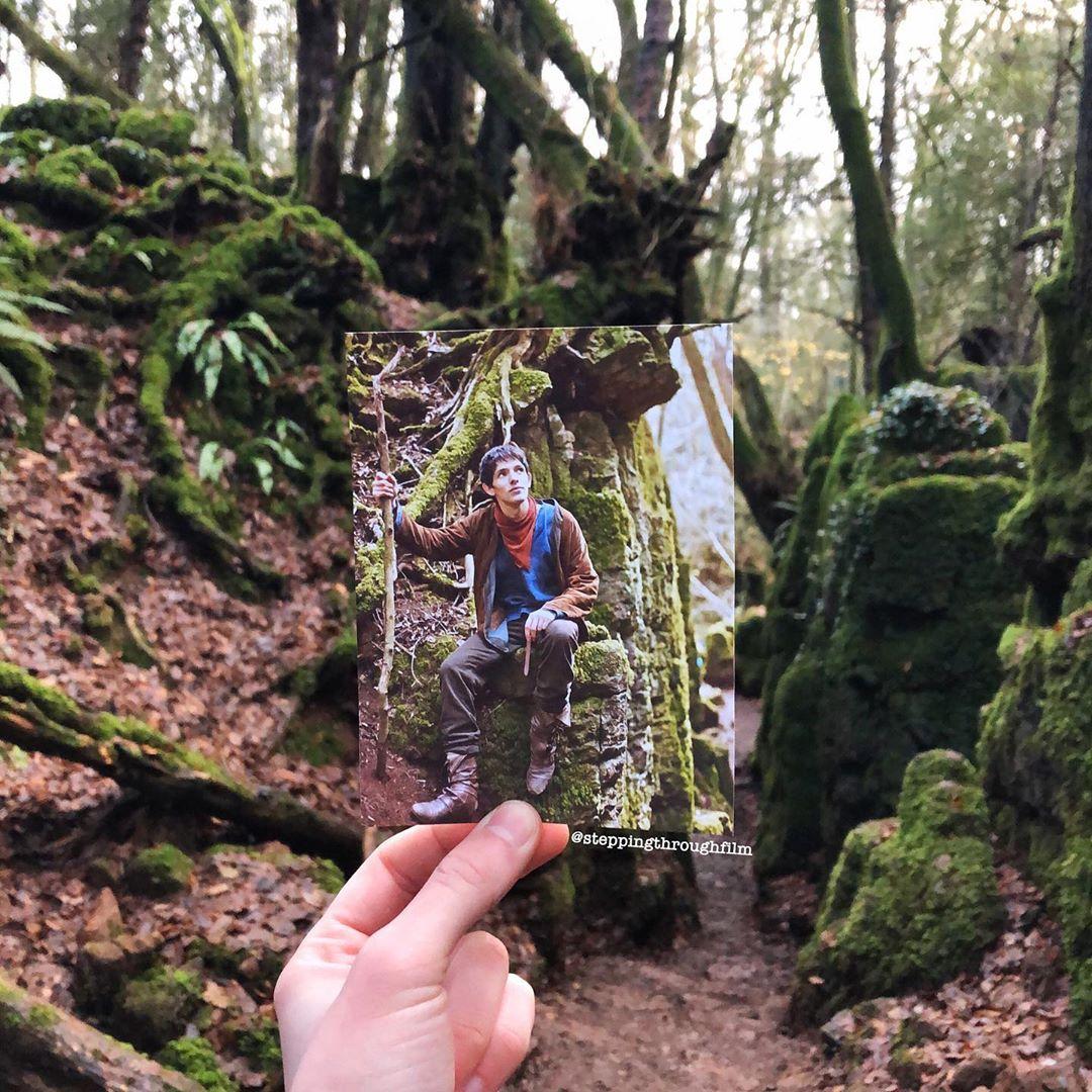 Британец совмещает кадры из фильмов с реальным ландшафтом