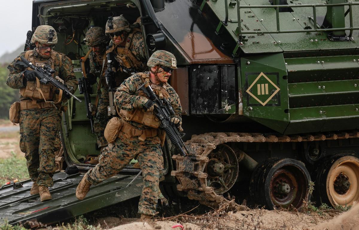 Ежегодные военные учения «Cobra Gold» в Таиланде