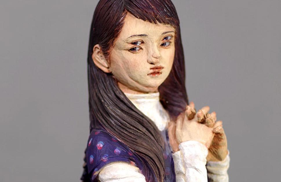 Глитч-арт скульптуры, от которых кружится голова
