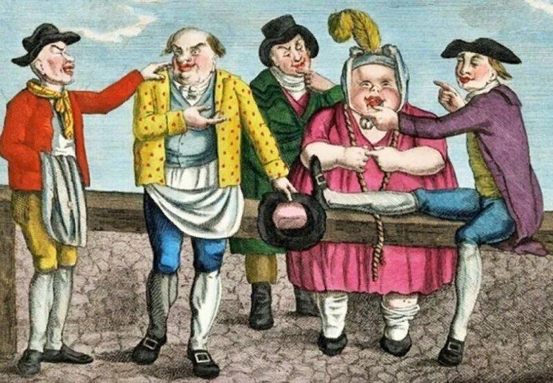 Как в XVIII веке избавлялись от надоевших жен в Англии