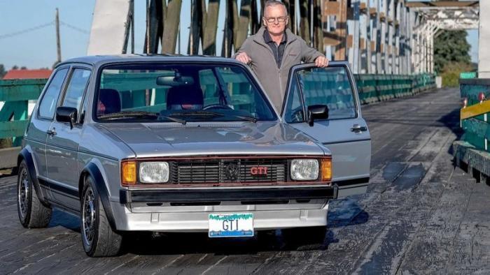Мужчина потратил 7 лет и $140 000 на восстановление Volkswagen Golf GT