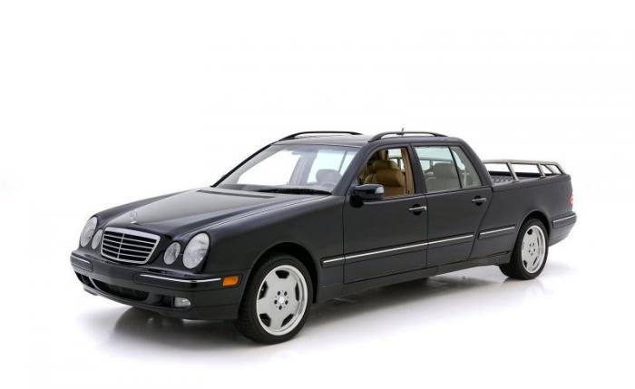 Необычный пикап на базе Mercedes-Benz E320