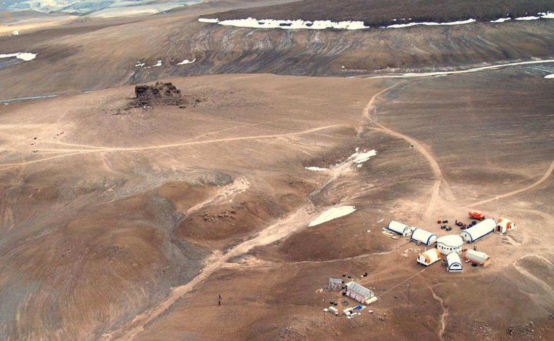 Остров Девон — кусок Марса на Земле