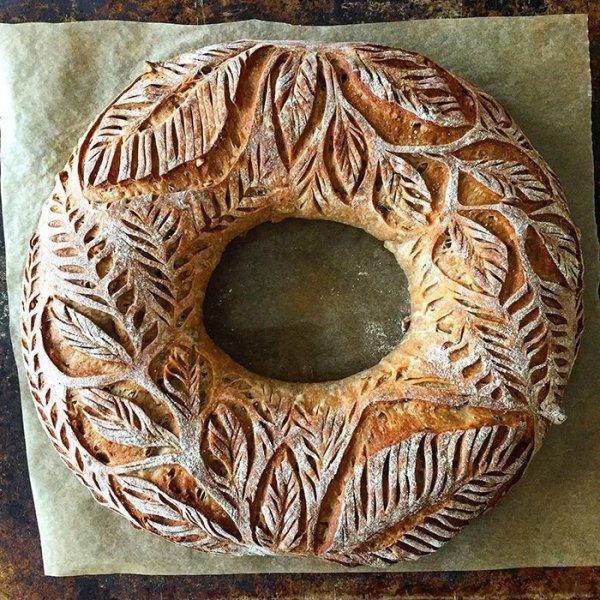 Пекарь покоряет Инстаграм дизайнерским домашним хлебом