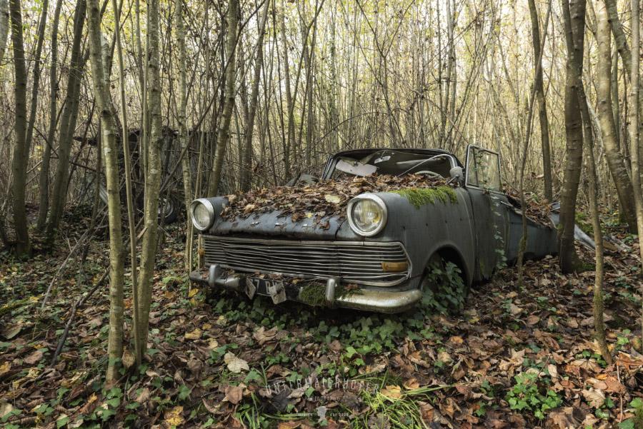 Покинутые автомобили на снимках Питера Унтермайерхофера