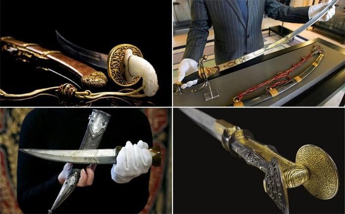 Самые дорогие экземпляры средневекового оружия