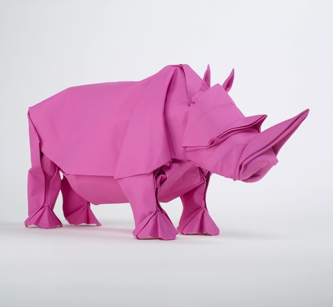 Швейцарский художник Сифо Мабона вывел оригами на новый уровень