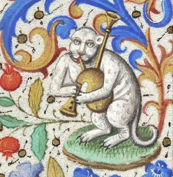 Средневековые художники совсем не умели рисовать котиков