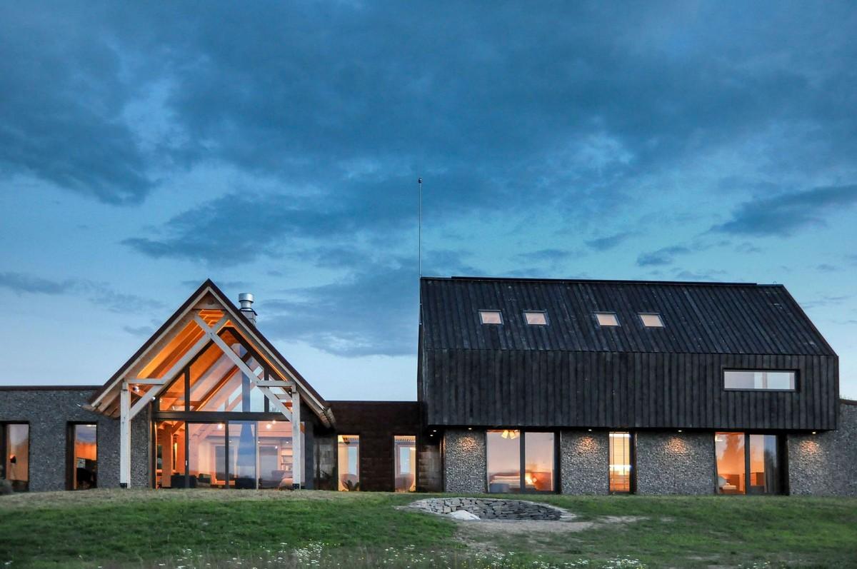 Стильный дом в румынской горной деревне