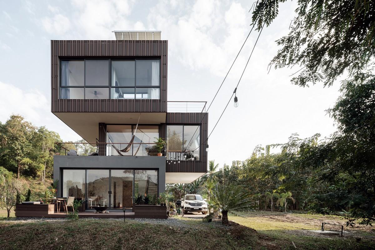 Стильный энергосберегающий дом в Таиланде