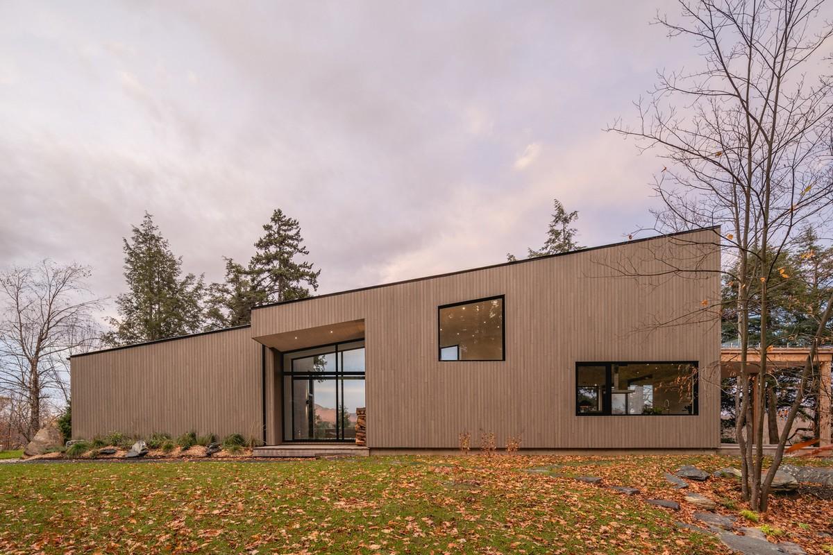 Стильный загородный дом в Канаде