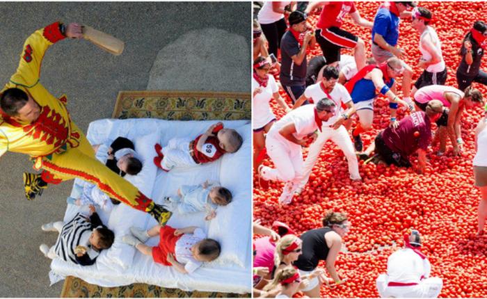 Традиции разных стран, которые для русского человека покажутся безумием