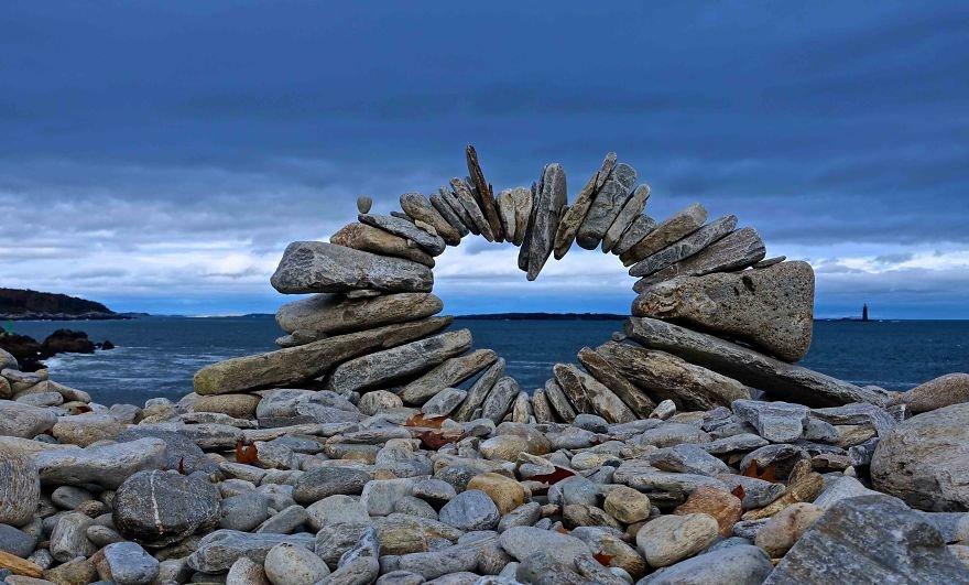Удивительные природные инсталляции от Дэвида Аллена