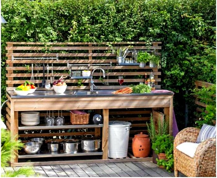 Вдохновляющие идеи для оформления летней кухни