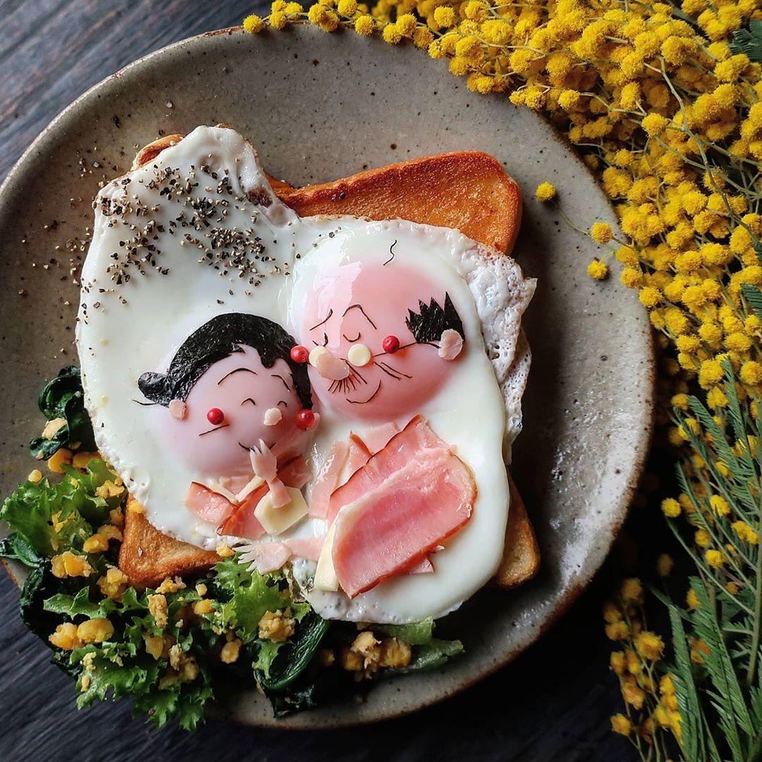Веселые блюда с яйцами от мамы из Японии