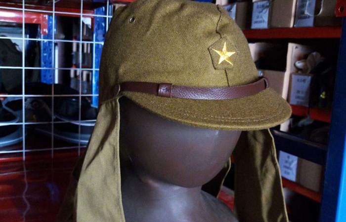 Зачем на японских кепках времен Второй мировой нужны длинные «уши»
