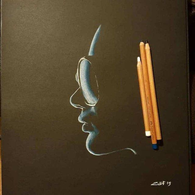 Женские портреты из тени и света