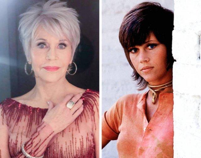 Знаменитые актрисы на снимках сейчас и тогда
