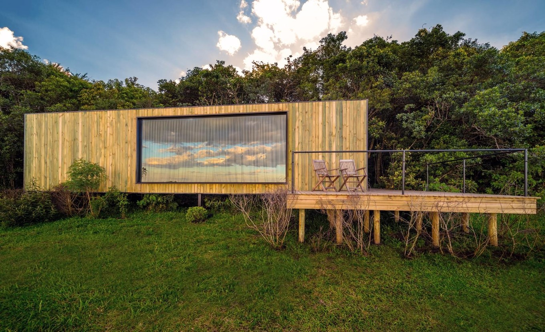 Дизайн и интерьер небольшого дома на юге Бразилии