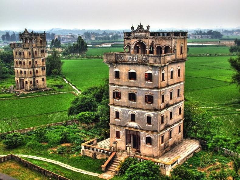 Дяолоу – многоэтажные дома-крепости в Китае