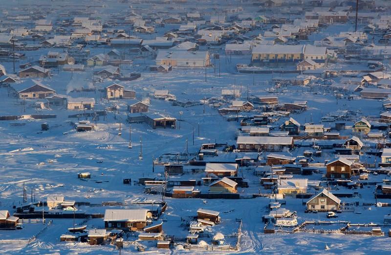 Города России с самыми низкими температурами
