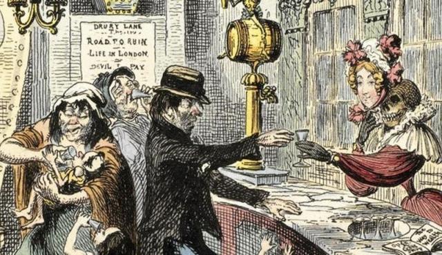 Как Лондон чуть не погубило дешевое пойло