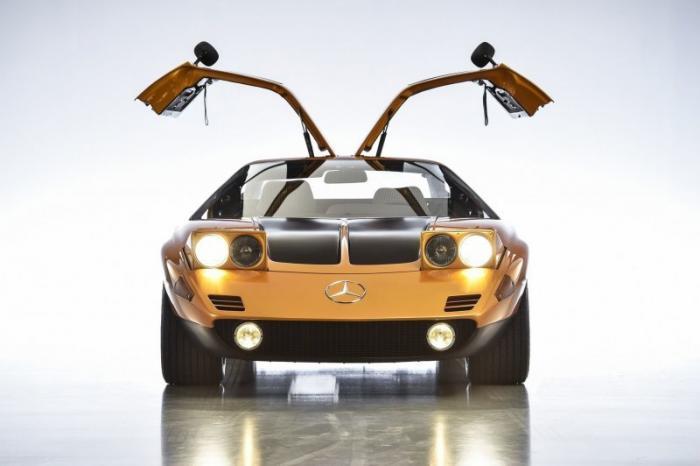 Mercedes C111/II — опередивший время
