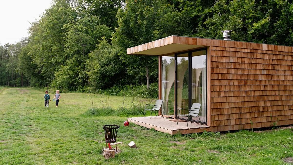 Небольшой загородный дом для отдыха в Нидерландах