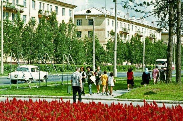 Новосибирск в начале 70-х годов на снимках