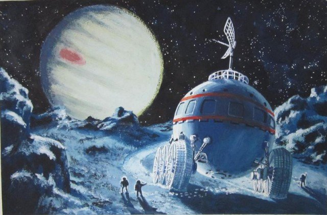 Освоение космоса в работах Геннадия Корягина
