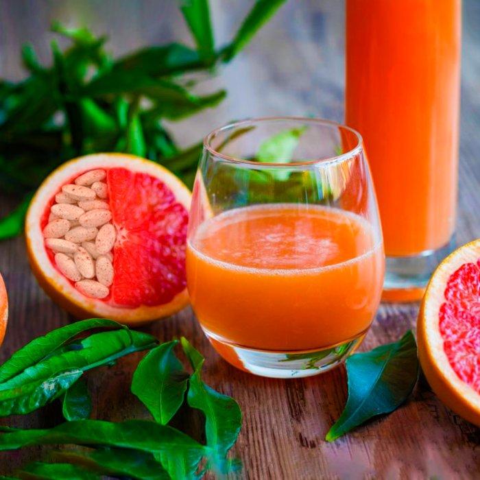 Почему лекарства не стоит запивать грейпфрутовым соком