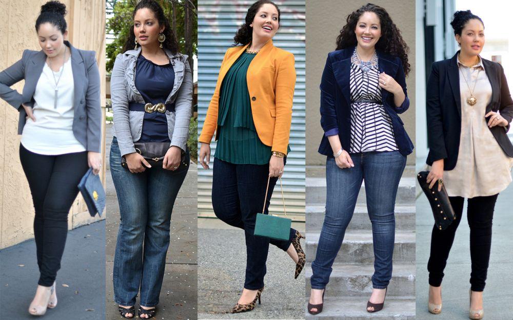 Как правильно подбирать одежду обладательницам пышных форм