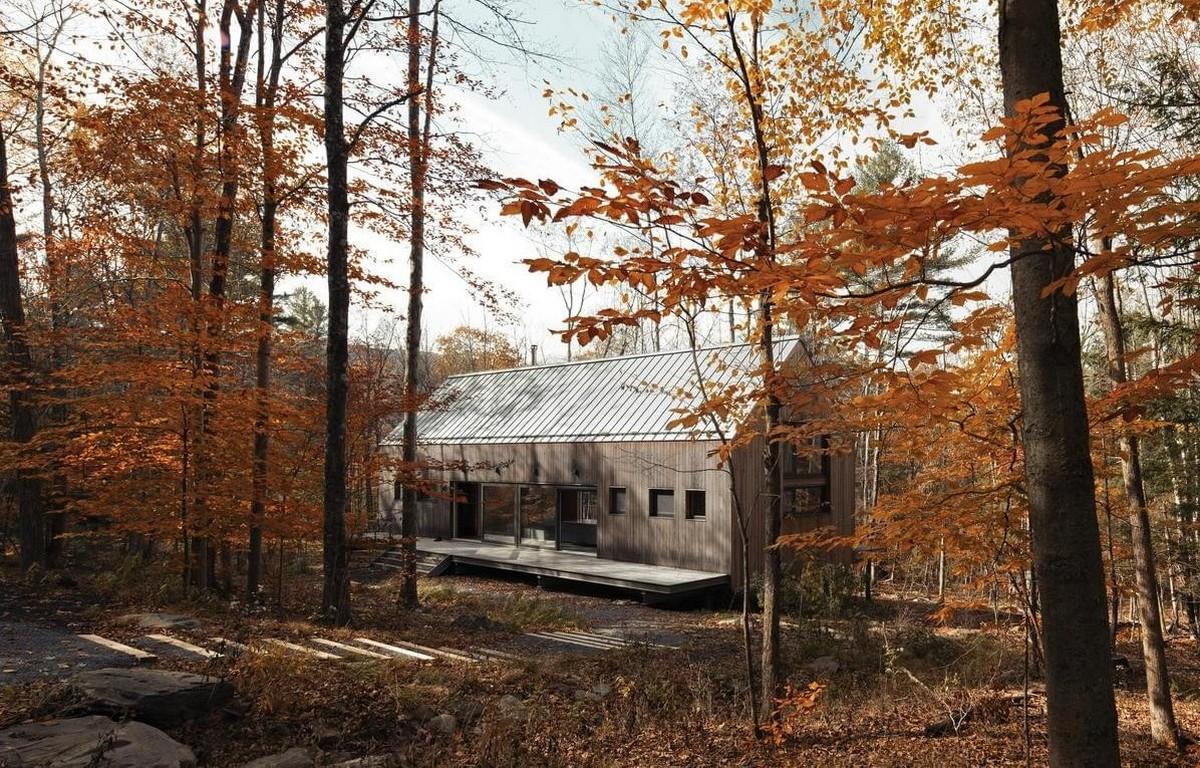 Резиденция для отдыха на севере штата Нью-Йорк