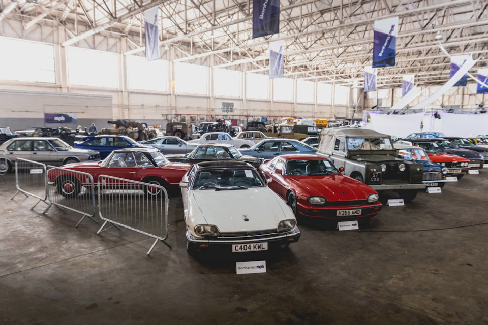 Самые дорогие автомобили аукциона Bonhams