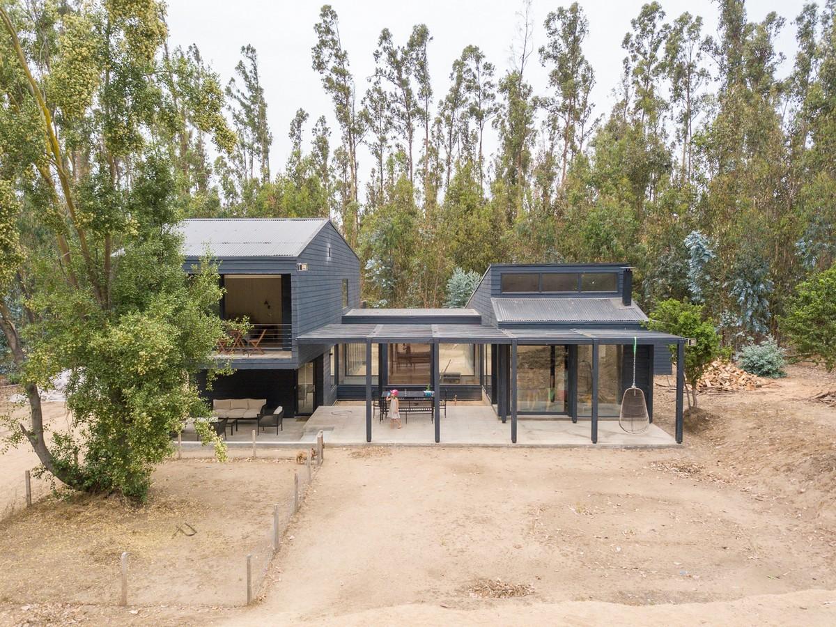 Современный загородный дом в Чили