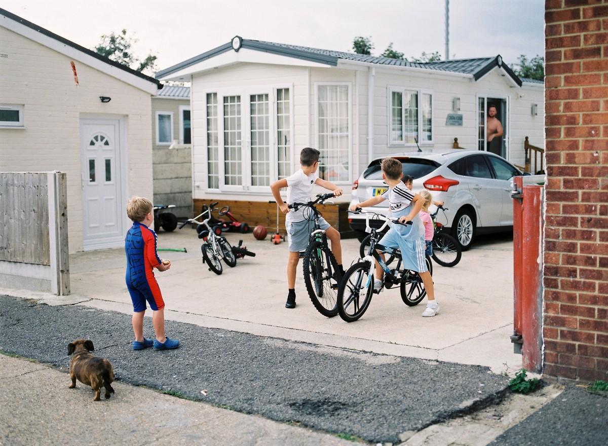 Жизнь ирландских цыган в Лондоне на снимках