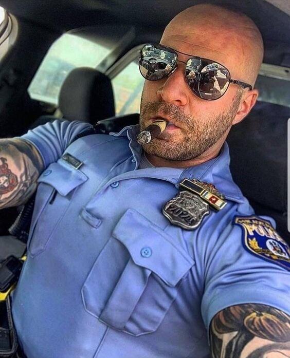 Американская полиция и татуировки, как отдельный вид искусства