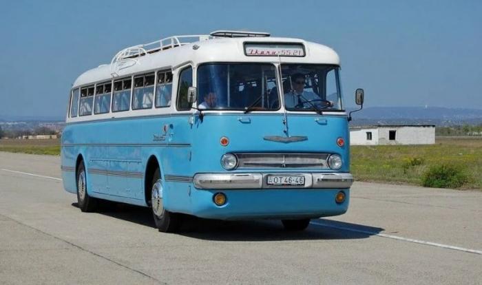 Автобус Ikarus 55 — венгерский красавец по прозвищу «Ракета»